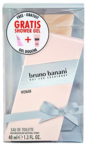 bruno banani Woman Eau de Toilette Spray 40 ml + Shower Gel 150 ml, 190 ml