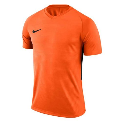 finest selection bb8b5 055d2 Nike Tiempo Premier SS Maillot Homme, Safety Orange (Black), FR   S