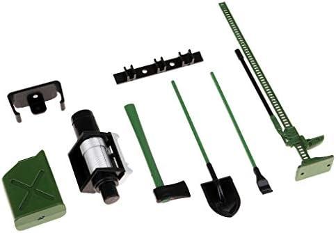Homyl Set de 6pcs Outil D'accessoire Décoration pour 1: 10 Voiture Wraith D90 D110 SCX10 | Terrific Value