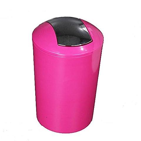 couleur bonbon poubelle Wastebasket petit lambeau de formule 19 ×