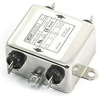 DealMux CW3-10A-T AC 115V / 250V 10A Fase Única Noise supressor EMI Filtro