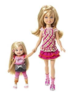 Barbie Camping Family Stacie & Kelly Dolls by Mattel (English Manual)