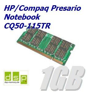 1GB Speicher / RAM für HP/Compaq Presario Notebook CQ50-115TR -
