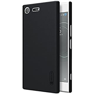Tmusik Sony Xperia XZ Premium Case, Nillkin [Anti-Slip] [Slim Fit] Frosted Ultra Thin Matte Hard Back Cover Case for Sony Xperia XZ Premium [Screen Protector Film for Gift] - Black