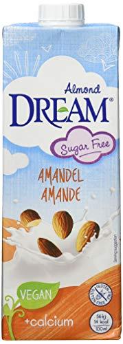 DREAM Mandel Drink ungesüsst - zuckerfreie Mandelmilch | vegan - 10er Pack (10x1l) - 101 Mandel
