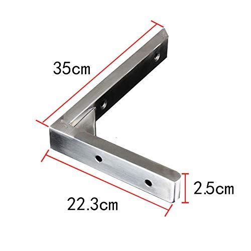 JIA-1 Soporte para estantes de Acero Inoxidable 304, Carga máxima 250 lbs,...