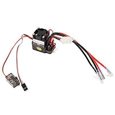 XCSOURCE 320A High Voltage Version ESC Brushed 7.2 - 16V Speed Controller for RC Car Truck Boat Models Heat sink RC191
