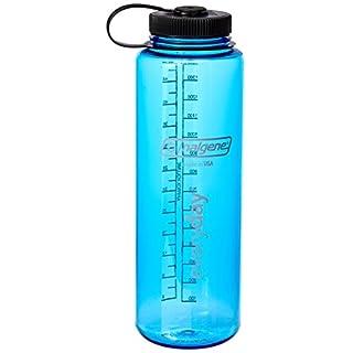 Nalgene Kunststoffflasche Everyday WH Silo Trinkflasche, Blau, 1.5 L