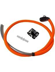 Orange fluo 122 cm d'hydratation de rechange ou tubes Platypus. Extender Kit pour bidon