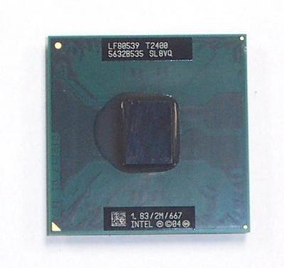 Intel Core Duo processor T2400 (1.83GHz) - 41W1134
