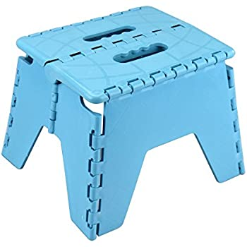 Small Folding Step Stool Colours May Vary Amazon Co Uk