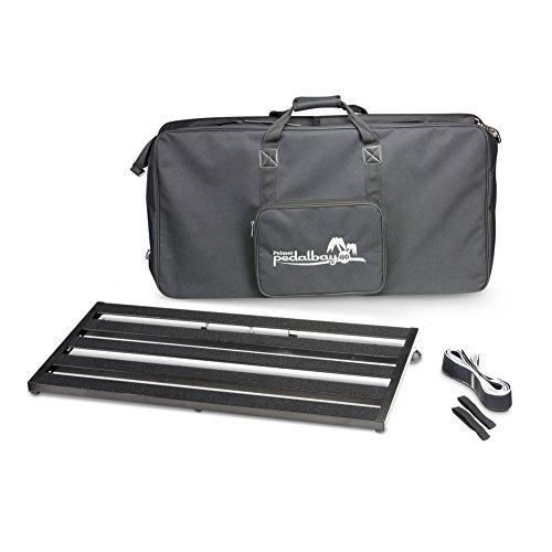 Palmer PEDALBAY80 Pedalebay 80 Variable Pedal-Board with Padded Carry Cover 80 cm