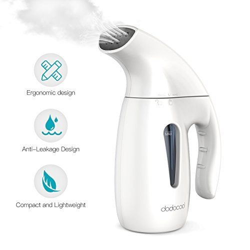 dodocool Clothes Steamer,White,1...