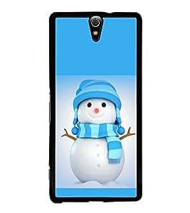 printtech Snowman Christmas Back Case Cover for Sony Xperia C5 Ultra Dual , Sony Xperia C5 E5553 E5506::Sony Xperia C5 Ultra
