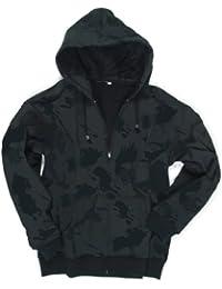 Mil-Tec - Sweat-shirt -  Homme Noir Black Camo