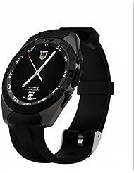 Montre de sport, alarme vibrante montre de sport, sport, GPS Tracker Smart Watch, pression artérielle Mesurer, écran tactile capacitif, télécommande Shoot, puissant lumineux poignet, meilleure qualité Wearable Smart pour écran tactile pour le suivi d'activité