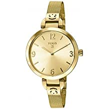 Reloj Tous Bohème de acero IP dorado