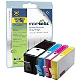 4 Moreinks Remanufactured Ink Cartridges Multipack Replacement for HP 920XL (Cyan, Magenta, Yellow and Black)