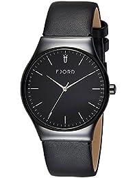 Fjord Analog Black Dial Men's Watch- FJ-3026-04
