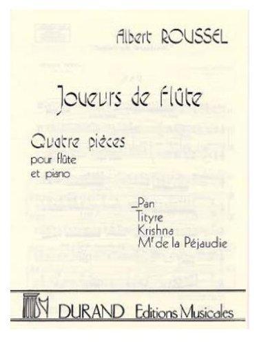 Joueurs de flûte Op.27/1 :Pan - Fl/Po