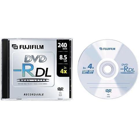 Fujifilm 4048194 - DVD+R DL (8.5 GB, doble capa)
