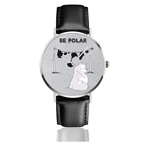 Unisex Business Casual Be Polar Bear Uhren