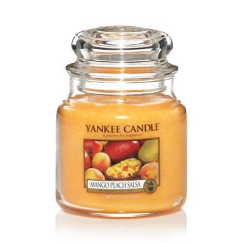 Yankee Candles Media Jar Candle - Mango Peach Sals
