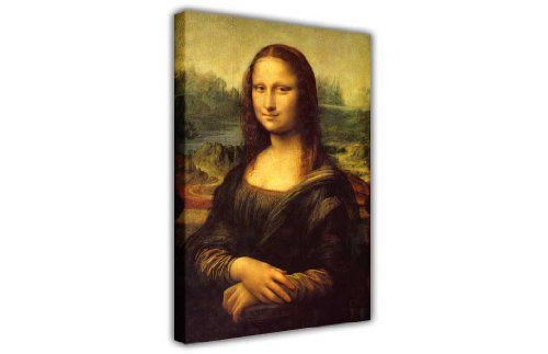 CANVAS IT UP Leonardo Da Vinci Mona Lisa berühmten Werk Leinwand Wand Art Portrait Fotos, 0- A4-8