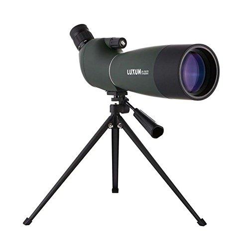 MPEN 25-75X70 Zoom Spektiv mit Stativ Long Range Ziel Schießen Vogelbeobachtung Monocular Teleskop HD Optisches Glas FMC Objektiv Grün (Farbe : Grün)