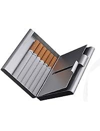 ToBeIT Etui Zigaretten Metall Zigarettenbox - Aluminium Zigarettenetui für 20 Zigaretten