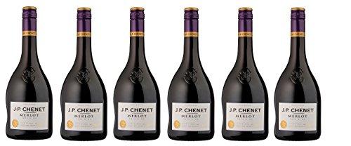 J.P.Chenet Merlot  2014/2015 (6 x 0.75 l)