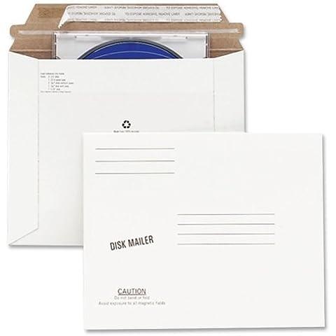 QUA64117 - Redi-Strip Economy Disk Mailer by Quality Park