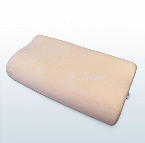 lichunyan Massage Partikel langsam Rebound Raum Speicher Baumwolle Kissen zu Sleep Kissen Hals Care Speicher Baumwolle Core gelb Curl Power Spray Foam