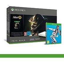 Xbox One X 1TB + Fallout 76 - Robotic White Edition + FIFA 19 - Xbox One