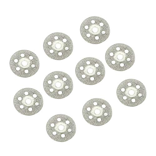 ZCHXD 16mm Diamond Glass Saw Cutting Cut Off Discs Wheel 10pcs -