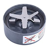 Cross Extractor Stainless Steel Blade Base Replacement Part for NutriBullet Blender 600/900W(900W)