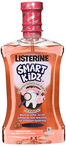 Listerine Smart Kidz Beere, 500 ml (Rinse Smart Listerine)