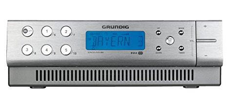 Grundig Sonoclock 890 (LC-Display) Uhrenradio aluminium