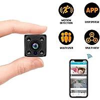 C-Xka Mini cámara WiFi, Mini cámara Oculta WiFi, 1080P Cámaras espía portátiles