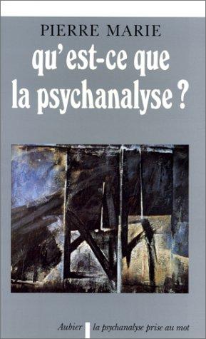 Qu'est-ce que la psychanalyse ? : Sur quelques antinomies entre les principes de la méthode et les postulats de la doctrine