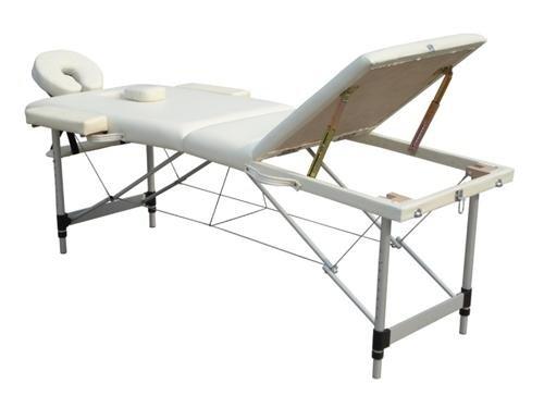 D&S Vertrieb Massageliege – Aluminium 3 Zonen - 3