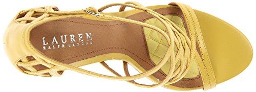 Lauren Ralph Lauren Sydney Dress Sandal Pineapple Kidskin
