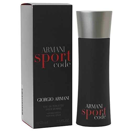 Giorgio Armani Code Sport Eau de Toilette Spray 75 ml old vintage Version
