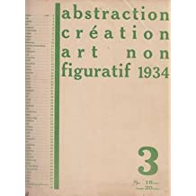 ABSTRACTION CRÉATION ART NON FIGURATIF 1934.