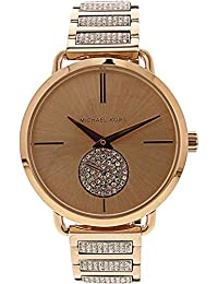 Michael Kors Portia Analog Gold Dial Women's Watch - MK3853