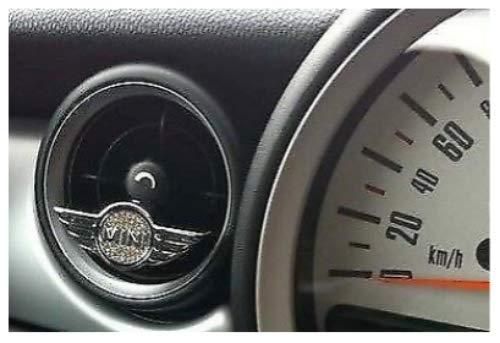 THE FRESH Mini Cooper - Deodorante per Auto con Cristalli Swarovsk
