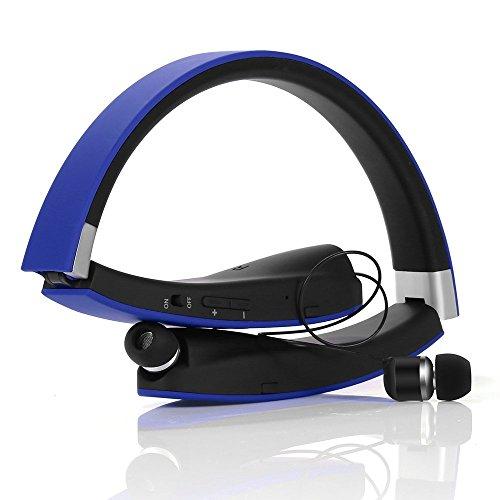 Auricolare Bluetooth Cuffie Bluetooth 4.1 Senza Fili Disegno ... 8677c6f4a777