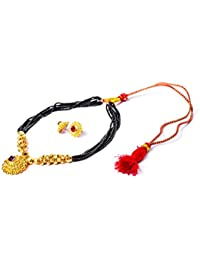 Shoplicious Traditional Kolapuri Necklace Set For Women - B077681H1J