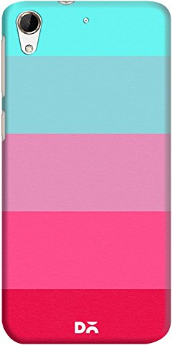 DailyObjects Mindscape Pink And Blue Case For HTC Desire 728G
