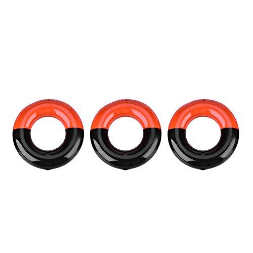 VGEBY 3 Stücke Golf Gewichteter Ring, Driver Head Golf Club Aufwärmen Swing Gewicht Ring Golf Zubehör